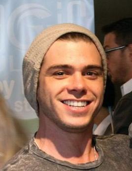 My cute smiley Matti wearing a beanie hat. :)