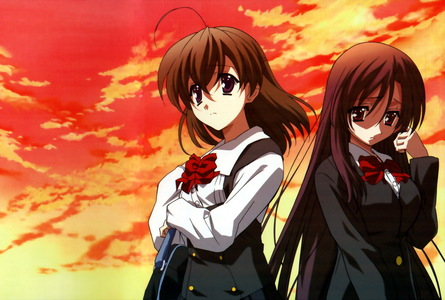 I dont hate any anime, but I dislike school days. ~
