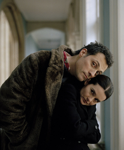 Rufus Sewell and Shirley Henderson. =3