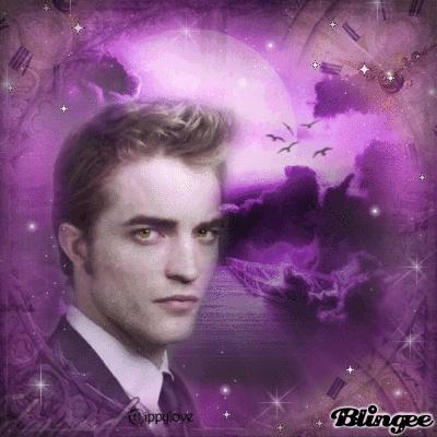Pattinson in Purple<3