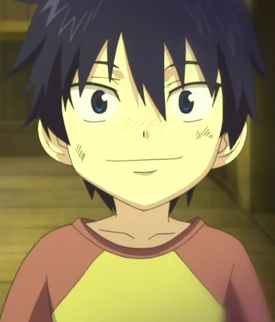 rin from ao no exorcist he is so cute x3 but so is other Anime kids