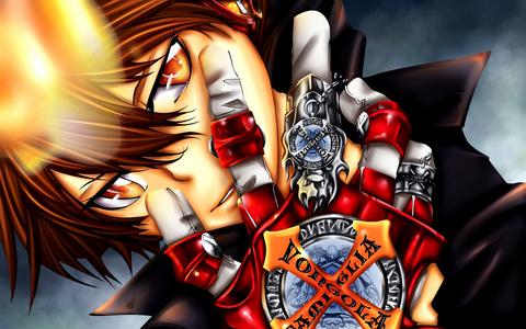 Tsunayoshi Sawada in Hyper Dying Will mode! X3