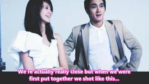 I think Yoona is in a relationship with Siwon, they are so stiff with each other if they're in public. they both are always engaged in the same work, aren't? even before their debut. but why they still always awkward when being together? i do not see this stiffness on her while being with SM other members, only with Siwon, Yoona will be different.