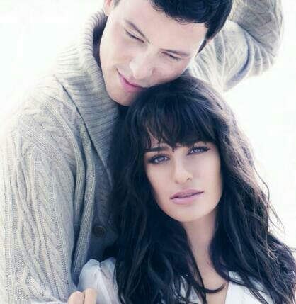 Lea Michele and Cory Monteith<3