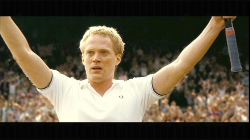 "Paul Bettany in ""Wimbledon"" looking rather surprised. =3"
