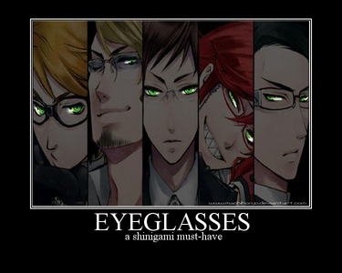 Here are the reapers. Only Ronald(1), Grell(4), and William(5) are in the anime.