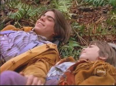 Matthew laying on the grass. :)