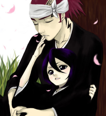 Renji and Rukia from Bleach (1st one is IchiHime)