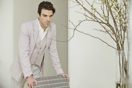 Zachary Quinto who is the sexiest gay man I've ever seen. <3