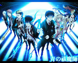 blue exorcist. just to religious for me