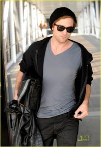 my handsome baby in a v-neck shirt<3