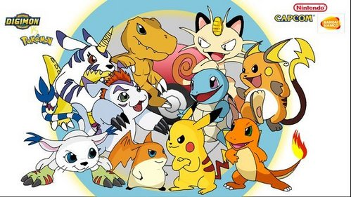 """Pokemon Digimon To be honest your not gonna find that many """"clean"""" anime's, if anda don't want him/her watching anime's like that then he/she shouldn't be watching anime. sejak that age I was watching animes with people getting their limbs ripped off and being perpecahan, berpecah in half."""
