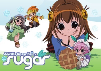 A Little Snow Fairy Sugar is a really adorable Anime I'd recommend for kids~