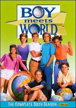 Matthew on the DVD of Boy Meets World 6th season. :)