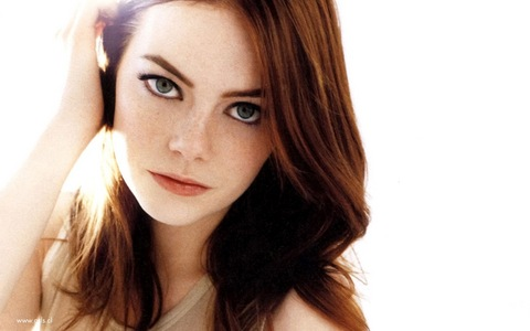 As a guy, I've have a soft spot for Emma Stone.