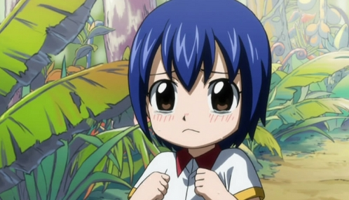 Young Wendy-chan in Fairy Tail! So Kawaii!:3