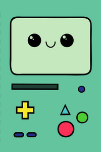 "BMO= Be More... created by Moe to play with his son (which he never had), BMO is a genderless robot with the ability to have fun and play. (has feelings) if you don't know what i'm talking about watch ""Be More"" the episode."