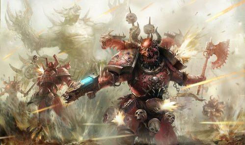 I like Warhammer 40K