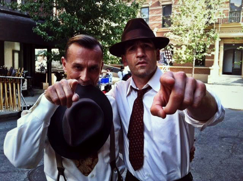 Knepper shooting another series: Lost Angels
