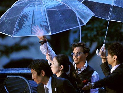 Johnny Depp in Japan .. my love <3
