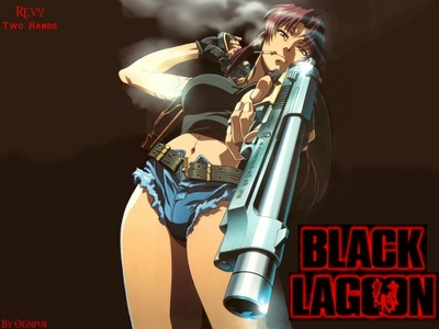 I deem this tanong impossible seeing as how I have like two trillion current anime crushes but one of them is Revy from Black Lagoon :3 <3