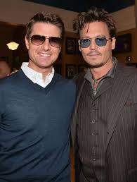 Both of them awesome!!! Tom Cruise and Johnny Depp!!<3