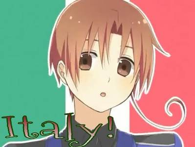 Italy! From Hetalia.He's cute,funny,and he loves pasta! :3