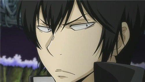 Sakata Gintoki, Natsu Dragneel X3 Hmm... Hard to choose~ Got it! Hibari Kyoya<3 Unique personality, his character is just awesome :)