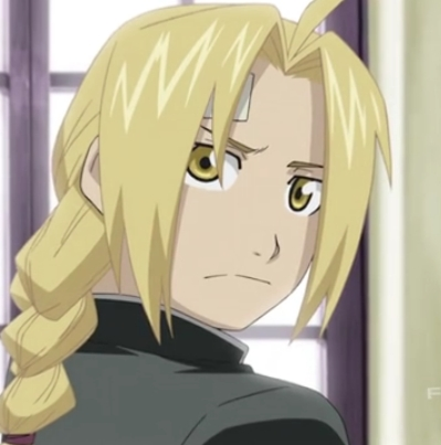 Would pag-ibig to have hair like Ed from FMA! Don't know why-I just really like it!