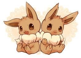 The first time I saw pokemon was ten years ago~ :p I was four. I&#39;m 14 and I still love it... ;_; (Even though my mom tells me to grow up...) But I LOVE Eevee because it can evolve so much and the fact that it&#39;s so adorable! Skitty, Beautifly, Piplup, and Torchic are my other favorites~! <3 I&#39;ve played a lot of the games, well, some of them, like; leaf green, sapphire, heartgold, soulsilver, diamond, pearl, black, and white~