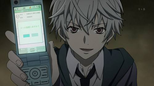 Akise from Miari Nikki, this Аниме was all about phones!