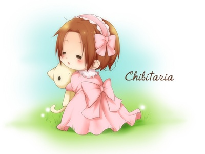 Chibitalia from Hetalia have you seen him he's the adorable and my most loved character for me in Hetalia 2.)Ciel 3.)Rukia 4.)Belarus