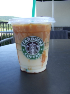 Caramel Macchiato. I love them. I have them pretty much all the time.
