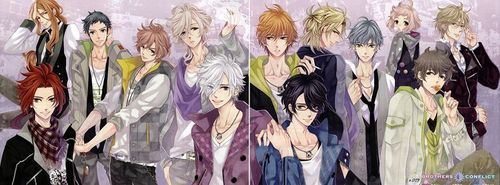 Maybe sword art online или brothers conflict :3 (picture)