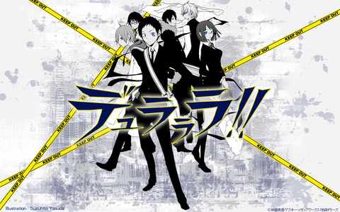 There are many that would be cool to be in. ~ But if I had to pick a main it would be Durarara!!