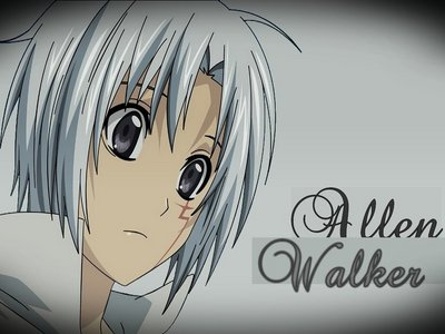 Allen Walker from D-Gray Man I have two mga kaibigan named Allen who are from Europa XD and One of my mga kaibigan has the last name of walker .