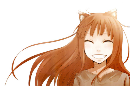 Holo from Spice and волк :3 I luv her sooo much :3