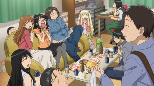 Of the Summer 2013 titles, I'd pick Genshiken, cause it would be fun to be a part of their club. They need еще guys this season anyways.