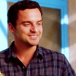 Jake Johnson with a cute sweet face...