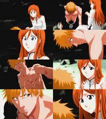 Ichihime!!! -Orihime is the only character who has đã đưa ý kiến that she loves ichigo! ( Episode 141 ) -Ichigo treats orihime better and his personality changes to a nicer Ichigo around Orihime. -Ichigo promised to protect Orihime unlike with rukia that he đã đưa ý kiến that he HAD to save her.Like if it was a job and not a choice in other words like he didn't want to begin with. He felt like OWE her not because he loved her hoặc anything -Orihime doesn't have to be strong to save ichigo because she bought him back to life ..twice. He stands here today because Orihime saved him from death. -Also both of the voice actors of Ichigo would like Ichigo to end up with Orihime. They both been following the storyline. Even Rukia's english voice actress đã đưa ý kiến that she rather want Ichigo and Orihime too and prefers Rukia with Renji. (fact) Ichigo hates it when people sit on his bed. (hint) Orihime sits in his giường and he doesn't say anything. Cute^^ (Fact) He yelled at Rukia when she sat on his bed. (Fact) Orihime LOVES Ichigo (Fact) Rukia has not đã đưa ý kiến that she loves Ichigo Also Tite kubo đã đưa ý kiến this trích dẫn 1. Ichigo and Rukia are thêm than Những người bạn but LESS than những người đang yêu 2. Ichigo's and Rukia's relationship is close but its NOT love. He aready deny that Ichigo and Rukia are not a couple TWICE.