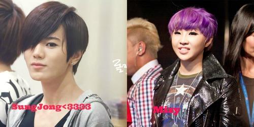 I want Sungjong o minzy hair<3333