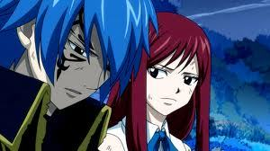 Erza and Jellal from Fairy Tail