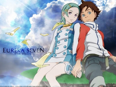I will go with Renton and Eureka from Eureka 7.