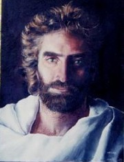 when you're spelling God's name please capitalize the g cause God is the name of our one and only creator not a name of an animal.I think that this painting of Gesù Christ is beautiful well in any form that Gesù plans for us to see him in he's still gonna be beautiful...