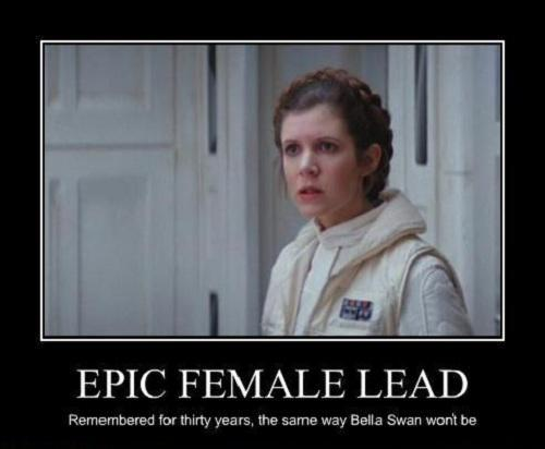 Leia Organa Solo. Hands down! Shes such a badass chick and didnt take any crap from anyone!