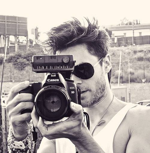 Jared with camera