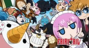 Fairy Tail is my first choice and it has so many 粉, 粉色 haired females :) . Heck the male protagonist Natsu even has 粉, 粉色 hair XD My 最喜爱的 粉, 粉色 haired Fairy tail characters are between Aries and Virgo .