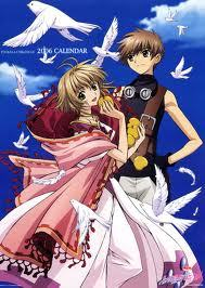 Syaoran and Sakura from Tsubasa : Reservoir Chronicles and Card Captor Sakura . In both anime's Syaoran is willing to do anything in order to protect Sakura even if she might not feel the same way and is even shown to be willing to risk his own life o happiness' as long as Sakura is okay . Sakura on the other hand cares for Syaoran but not in the same way at first , but in the end it's actually very cuore warming when she finally confesses her feelings to Syoaran .