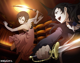Saya Otonashi vs Diva(sisters) from Blood+