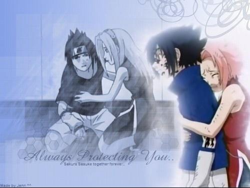 Sasuke and Sakura ♥